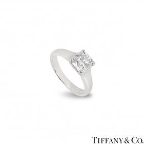 Tiffany & Co. Lucida Cut Diamond Ring 1.53ct E/VS1